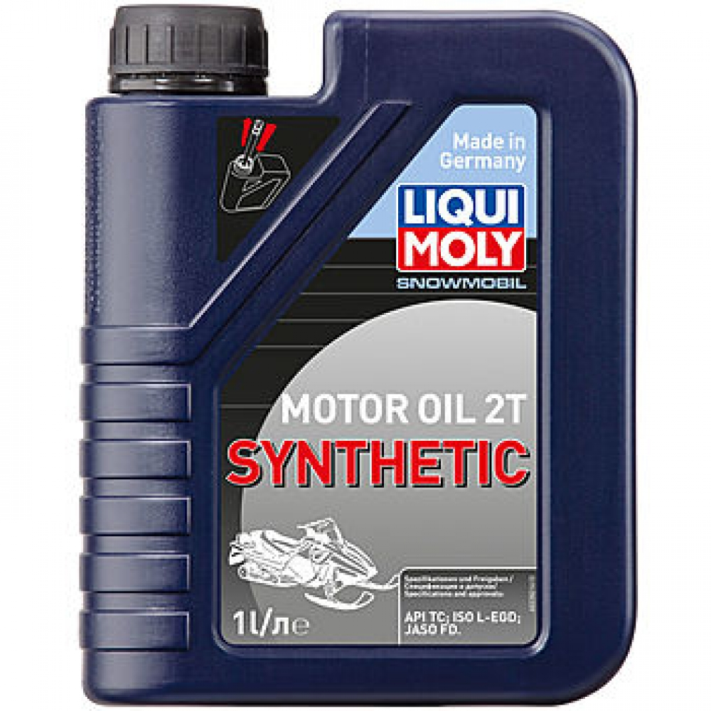 LIQUI MOLY Snowmobil Motoroil 2T Synthetic | Синтетическое